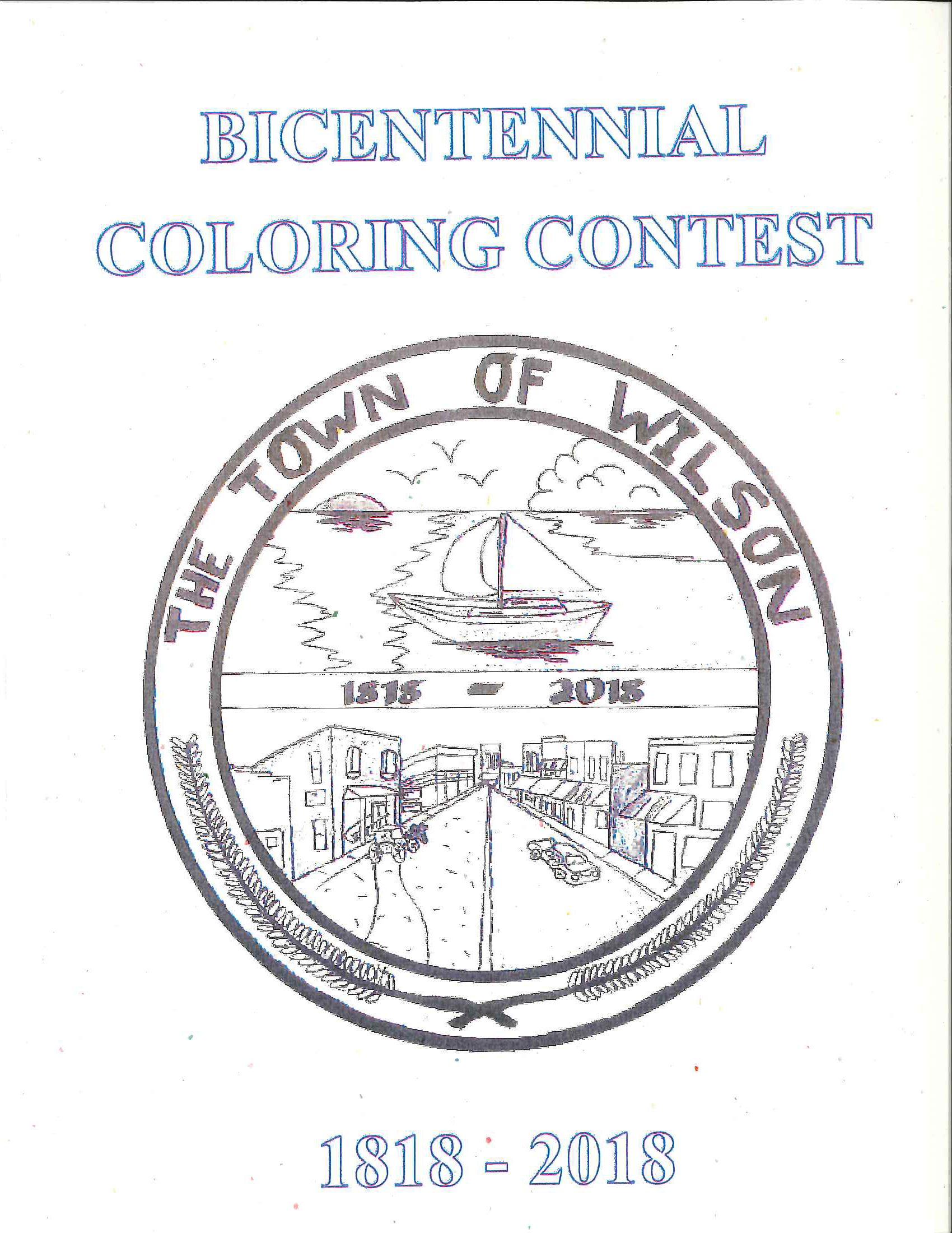 Bicentennial Coloring Contest